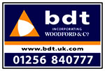 BDT incorporating Woodford & Co Company Logo